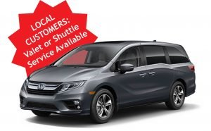 Shuttle and Valet Services available for local customers