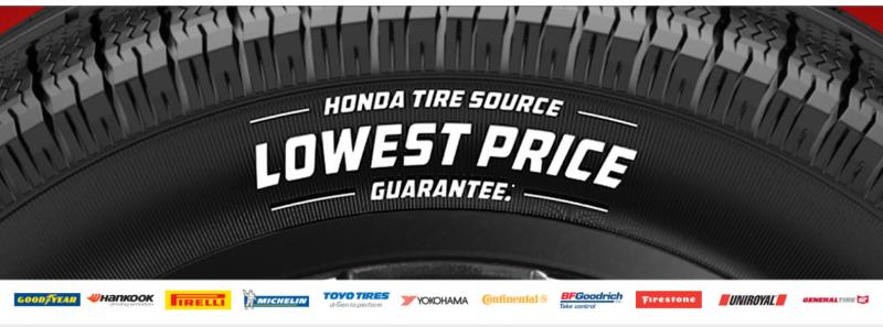 Honda Tire Source - Lowest Price Guarantee