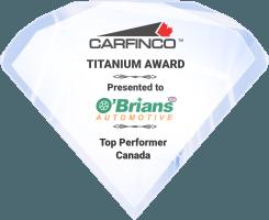 Carfinco Titanium Award