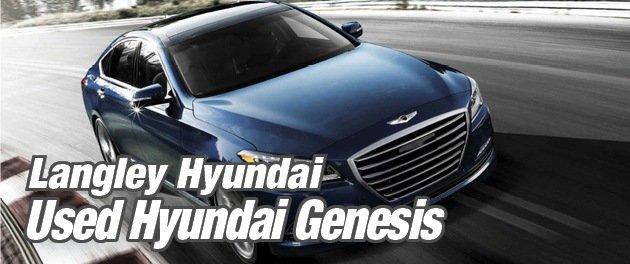 Used Hyundai Genesis