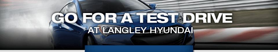 blue Hyundai SUV