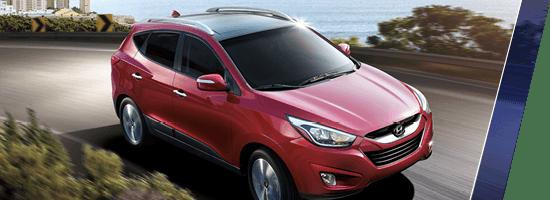 Red 2015 Hyundai Tucson GLS Langley BC