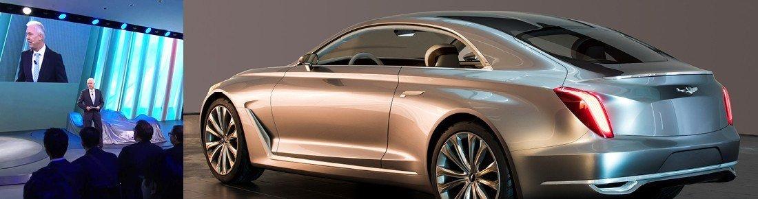 Hyundai Vision G Coupe and Albert Biermann