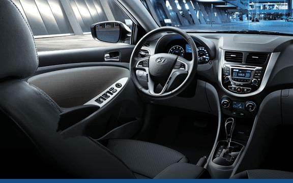 2016 Hyundai Accent interior