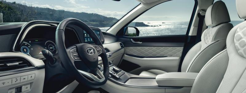 2021 Hyundai Palisade - Interior