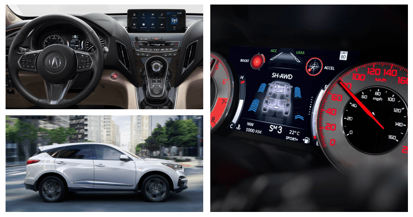 Acura RDX Performance Features