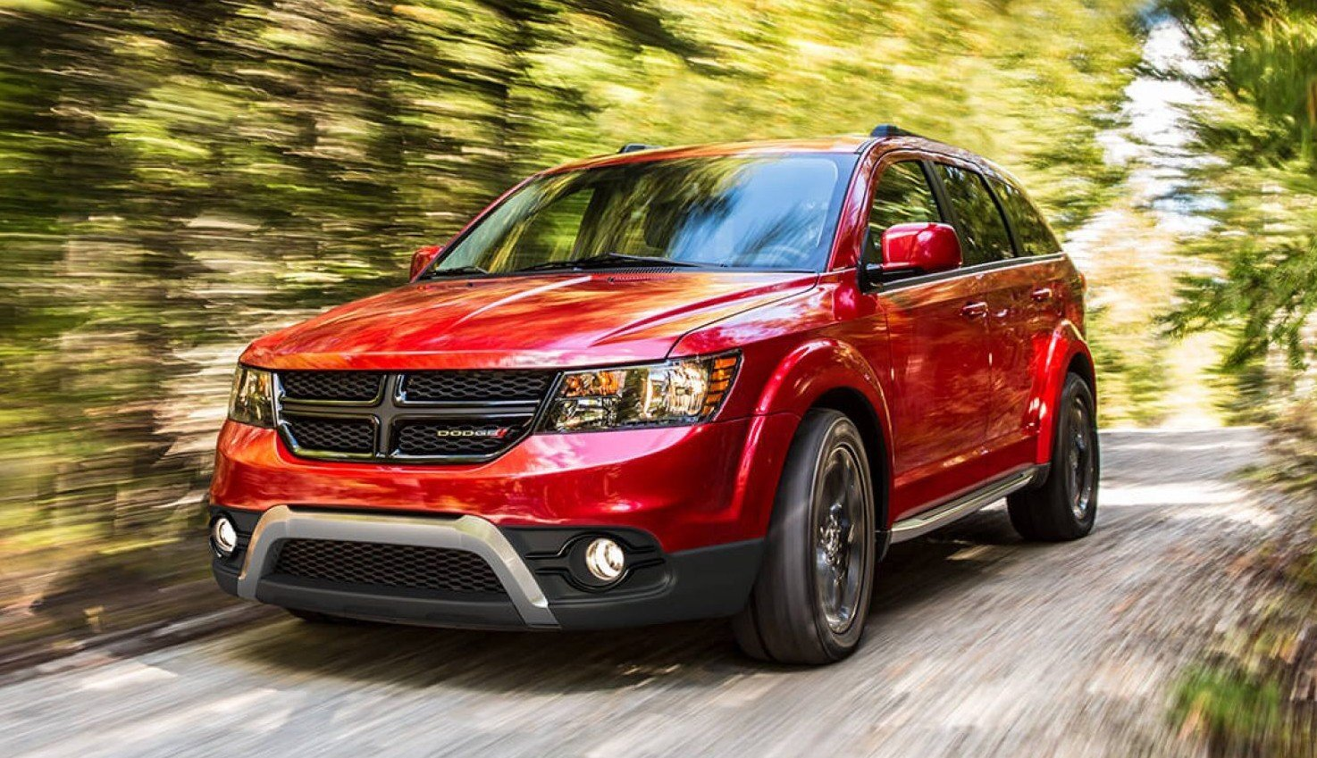Dodge Journey - Red Color