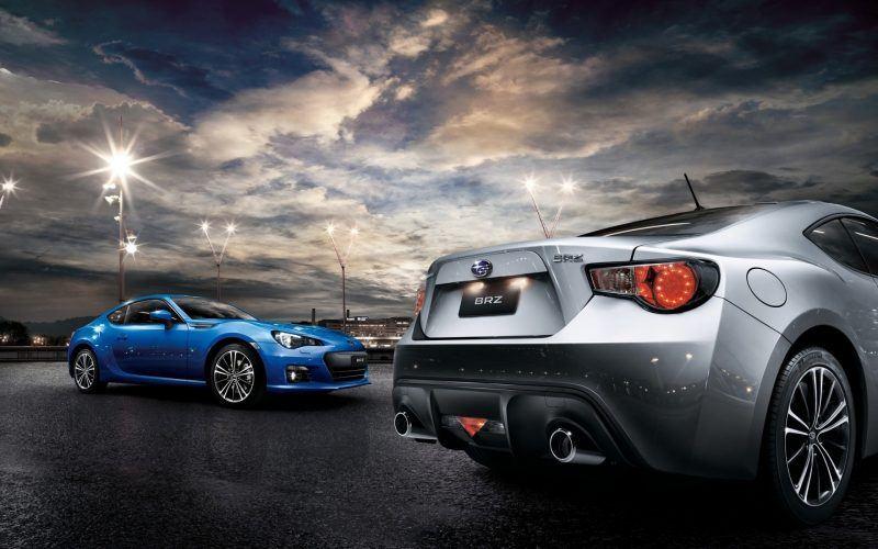 Subaru Line Up - Rally Subaru