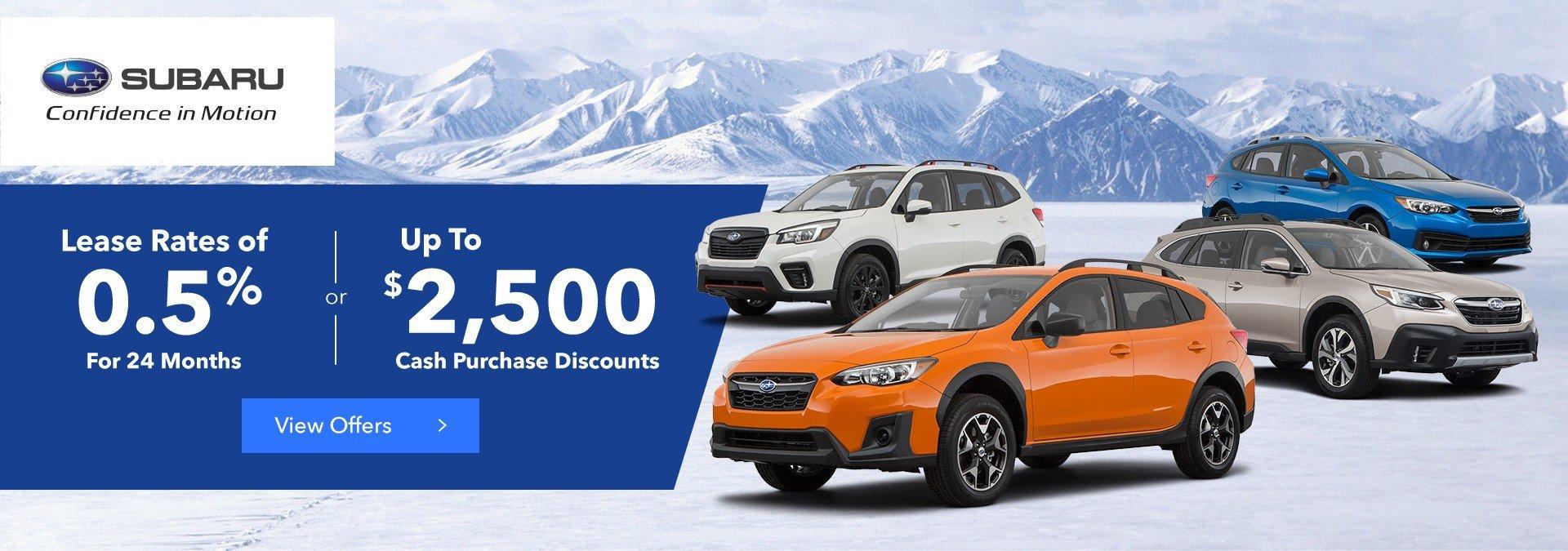 Subaru OEM Promotion Dec 2020