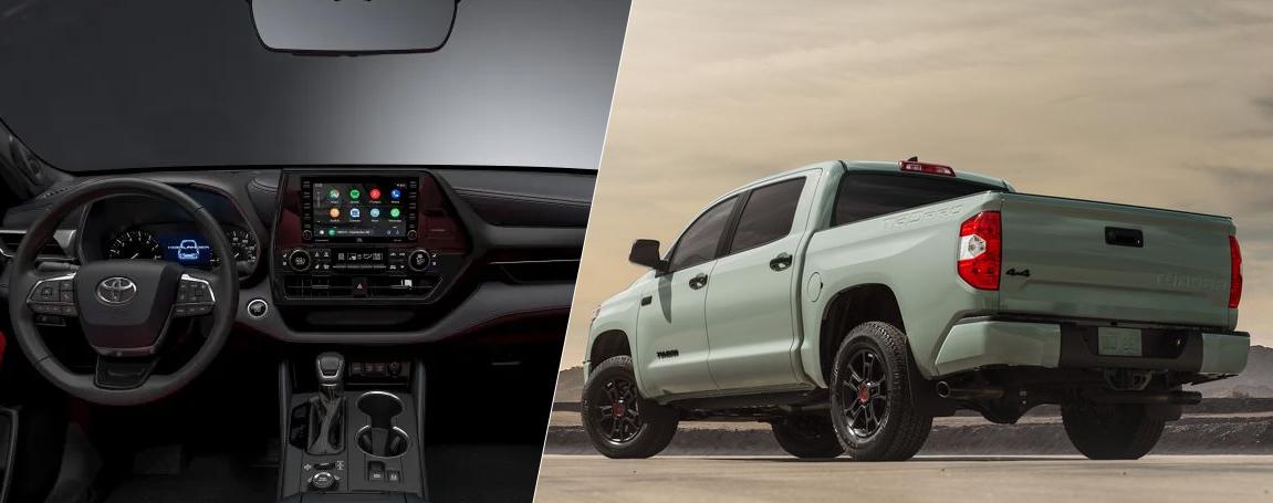 2021 Toyota Tacoma Interior and Exterior design