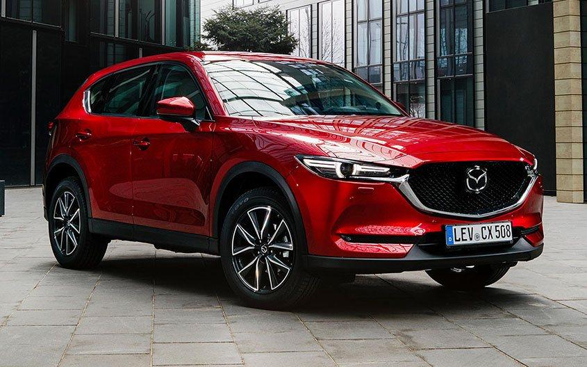 Mazda CX-5 Exterior - Red Color