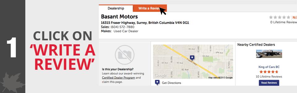 Basant Motors - Index Header - Dealer Rater - 1