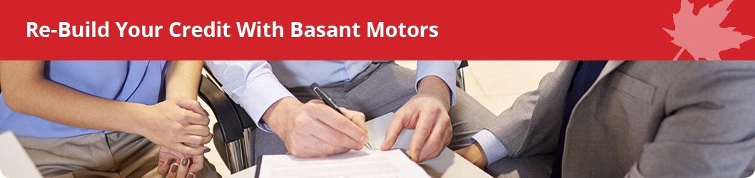 Basant Motors - Rebuild Your Credit!