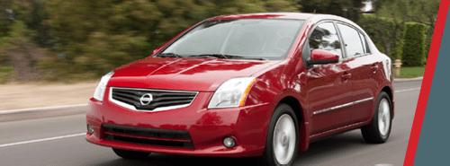 Nissan Sentra - Red Color