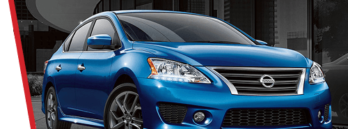 Nissan Sentra - Blue Color Exterior