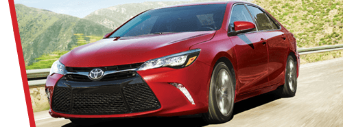 Toyota Camry in Red