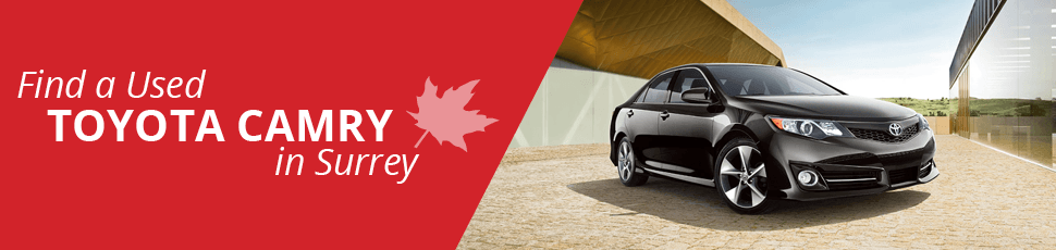 Find a Used Toyota Camry in Surrey, BC - Basant Motors