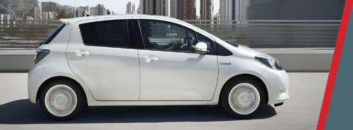 Toyota Yaris - White Exterior