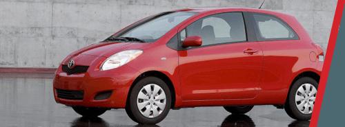 Toyota Yaris - Red Exterior 1