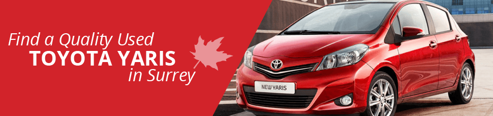 Find a Used Toyota Yaris in Surrey, BC - Basant Motors