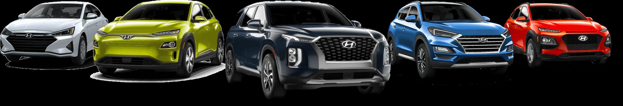Hyundai All Lineup