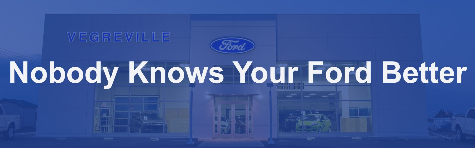 When it comes to Parts and Accessories, Nobody Knows your Ford Better than Vegreville Ford.