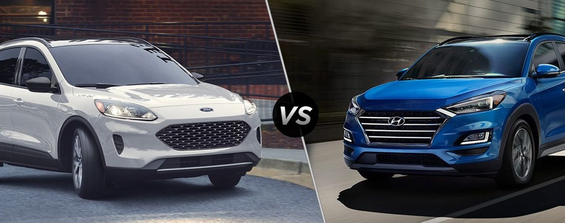 2020 Ford Escape vs. 2020 Hyundai Tucson