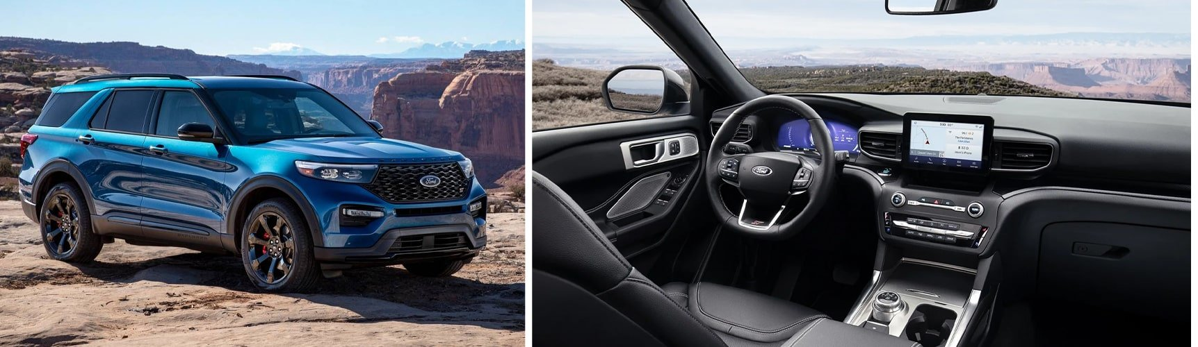 2020 Ford Explorer | Interior Features