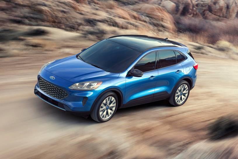 2021 Ford Escape - Blue Exterior