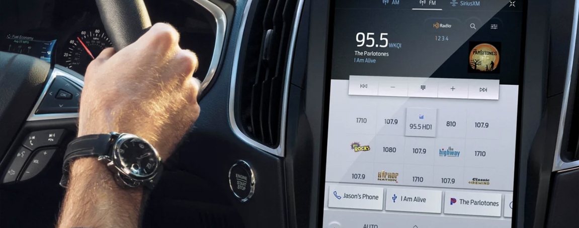 Infotainment - Ford's Sync 4 software