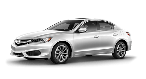 A gray Acura ILX for sale at Lougheed Acura near Vancouver