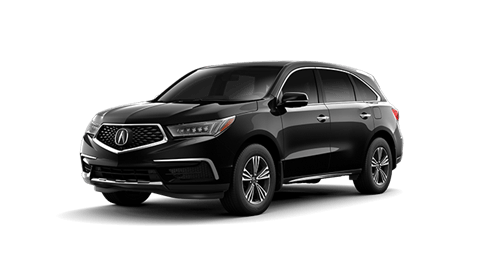 A black Acura MDX for sale near Vancouver at Lougheed Acura