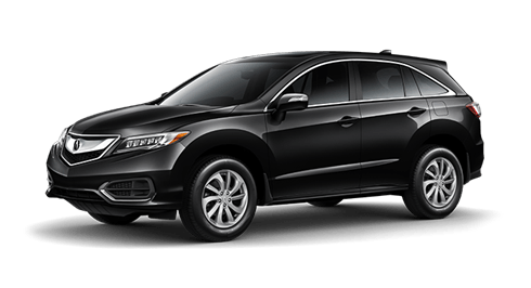 A stunning black Acura RDX available for drivers near Vancouver at Lougheed Acura.